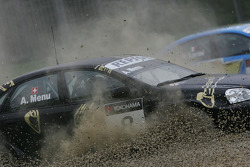 Alain Menu, Chevrolet, Chevrole Lacetti / crashed