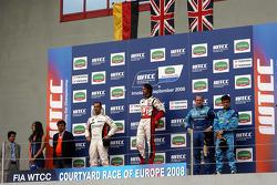 Jorg Muller, BMW Team Germany, BMW 320si, James Thompson, N. Technology, Honda Accord Euro R, Robert Huff, Chevrolet, Chevrole Lacetti
