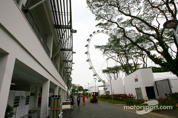 Paddock atmosphere