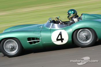Sussex Trophy race: Aston Martin DBR1