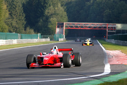 2nd lap at Les Combes: Karl-Heinz Becker (D) Becker Motorsport, WS Dallara Nissan 3.4 V6
