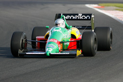 Florent Moulin (F) Ecurie Florent Moulin, F1 Benetton B188 Cosworth 3.5 V8