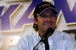 Press conference: Stanton Barrett will drive the No. 98 Curb/Agajanian/Team 3G car during the team's inaugural season in the IndyCar Series season in 2009