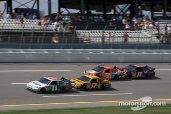 Dale Earnhardt Jr., Matt Kenseth, Jeff Burton and Denny Hamlin