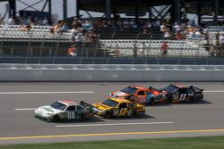 Dale Earnhardt Jr., Matt Kenseth, Jeff Burton and Denny Hamlin