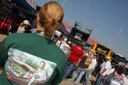 A fan of Dale Earnhardt Jr.