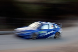Brice Tirabassi and Fabrice Gordon, Subaru World Rally Team, Subaru Impreza WRC