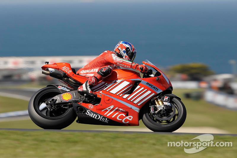 2008: Casey Stoner (Ducati Desmosedici GP8)