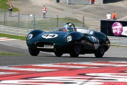 Carlos Monteverde, and Gary Pearson, Lister-Jaguar Costin, 1958