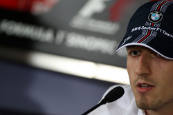 FIA Thursday press conference: Robert Kubica,  BMW Sauber F1 Team