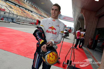 Test driver Sebastien Buemi