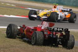 Kimi Raikkonen, Scuderia Ferrari, F2008 off the circuit