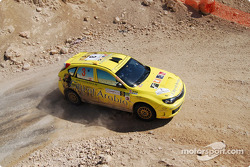 #3 City of Arabia Subaru Impreza N14: Michel Saleh and Ziad Chehab