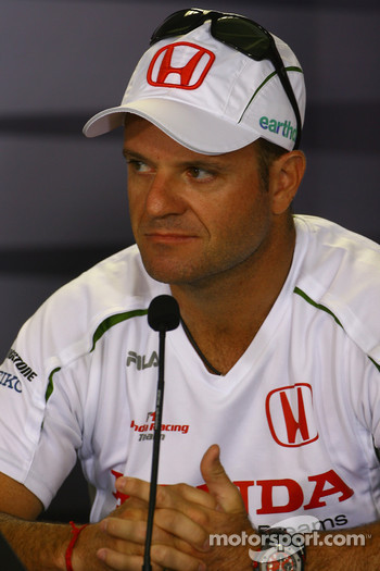 FIA press conference: Rubens Barrichello, Honda Racing F1 Team