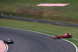 Kimi Raikkonen, Scuderia Ferrari, F2008 spins
