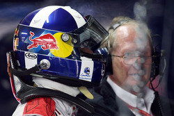 David Coulthard, Red Bull Racing, RB4 and motorsport consultant of Red Bull Helmut Marko