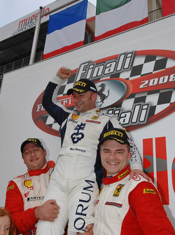 Saturday race: Trofeo Pirelli podium