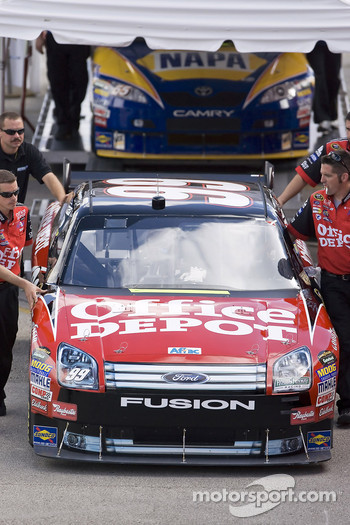 Office Depot Ford at tech inspection