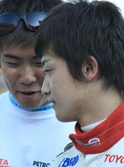 Keisuke Kunimoto before the grand prix