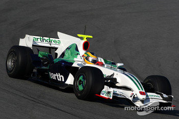 Bruno Senna, Test Driver, Honda Racing F1 Team