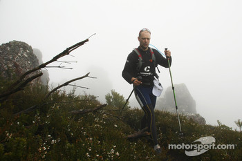 Launceston, Australia: Jason Hoen of Team Connolly Environmental in action