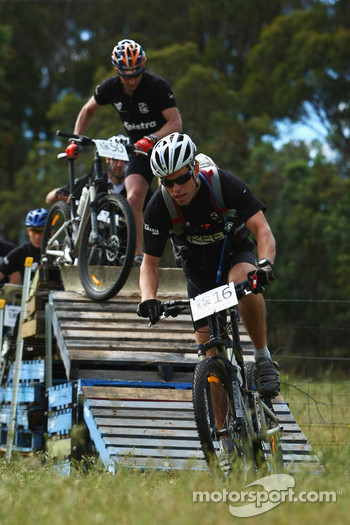 Launceston, Australia: Jarad Kohlar of Team Keen in action