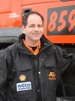 Team de Rooy: Gert Jan Reijnders, assistance truck #859