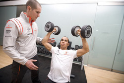 McLaren drivers fitness, Kuortane Sports Institue, Finland