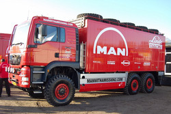 MAN Rally Team presentation: MAN Rally truck