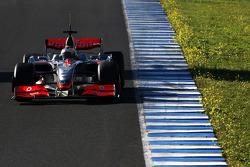 Pedro de la Rosa, Test Driver, McLaren Mercedes,  interim 2009 front wing