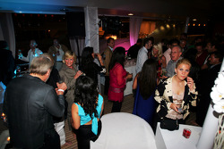The Fly Kingfisher boat party on the Indian Empress