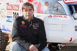 Equipa Padock: driver Francisco Pita