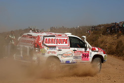 #399 Toyota Land Cruiser Prado: Francisco Pita and Humberto Goncalves