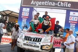 Car category podium: Francisco Pita and Humberto Goncalves