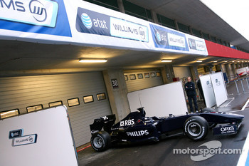 The new Williams FW 31