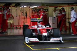 Kamui Kobayashi, Test Driver, Toyota F1 Team, In the new TF109