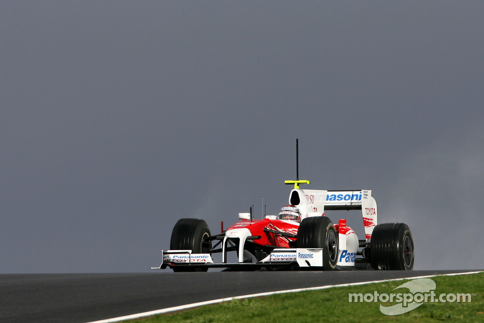Jarno Trulli, Toyota F1 Team, in the new TF109
