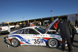 #35 Porsche GT3 at technical inspection