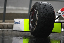 Toyota F1 Team, Bridgestone wet tyre