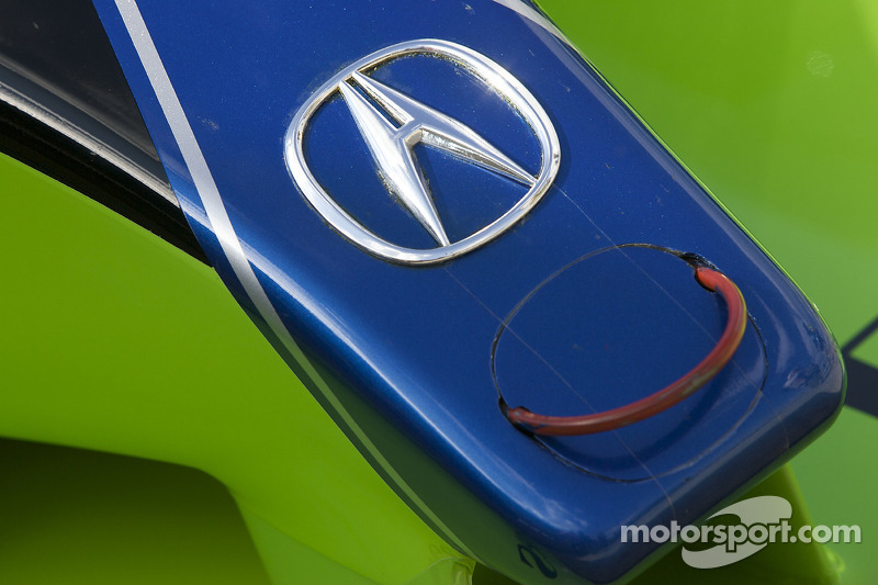 Detail of the #9 Patron Highcroft Racing Acura ARX 02a Acura