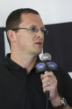 BMW Rahal Letternan press conference: BMW's Martin Birkmann