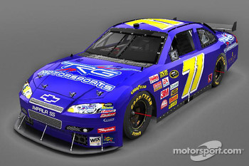 The new 2009 TRG Motorsports Chevrolet