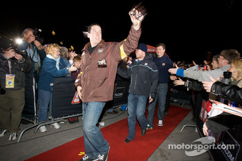 Drivers enter the stage: Kyle Busch, Joe Gibbs Racing Toyota