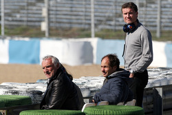 Dietrich Mateschitz, Owner of Red Bull, Gerhard Berger, David Coulthard, Red Bull Racing, Consultant