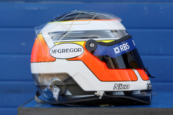 Helmet, Nico Hulkenberg, Test Driver, WilliamsF1 Team