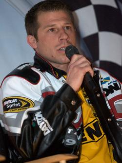 Champion's breakfast: crew chief Drew Blickensder for Matt Kenseth