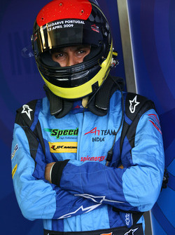Parthiva Sureshwaren, driver of A1 Team India