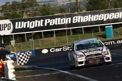 #55 Glyn Crimp, Tony Ricciardello, Stuart Kostura take out second in the Mitsubishi Lancer Evo X