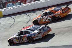 Kyle Busch and Joey Logano