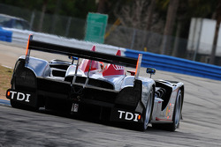 #1 Audi Sport North America Audi R15 TDI: Lucas Luhr, Mike Rockenfeller, Marco Werner